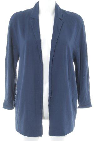 Esprit Long-Blazer blau Casual-Look
