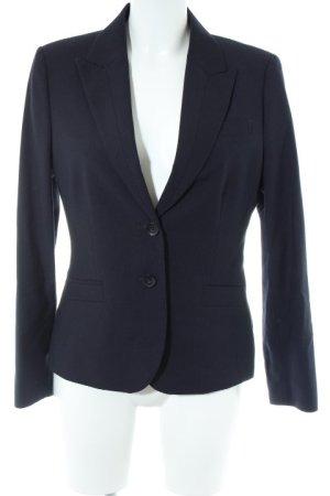 Esprit Long-Blazer dunkelblau-blau Nadelstreifen Business-Look