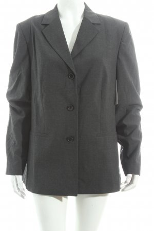 Esprit Long-Blazer dunkelgrau Business-Look