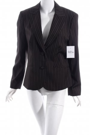 Esprit Long-Blazer dunkelgrau Nadelstreifen Business-Look