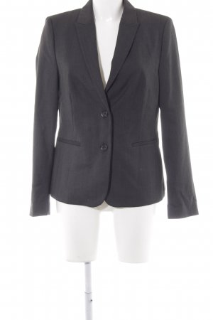 Esprit Long-Blazer dunkelgrau Punktemuster Business-Look