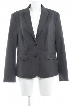 Esprit Long Blazer dark grey-white flecked business style
