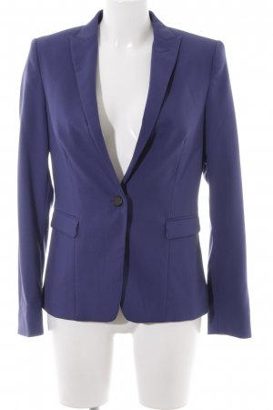 Esprit Long-Blazer dunkelviolett Business-Look