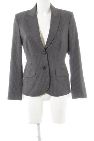 Esprit Lange blazer grijs gestreept patroon zakelijke stijl