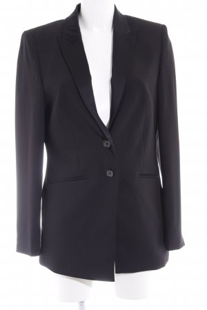 Esprit Long-Blazer schwarz Business-Look