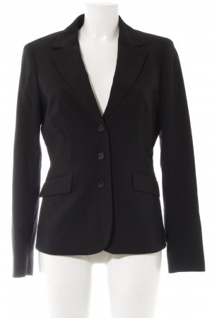 Esprit Long-Blazer schwarz Casual-Look