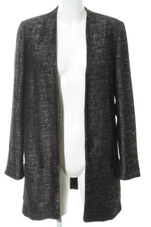 Esprit Long-Blazer schwarz-goldfarben meliert Elegant