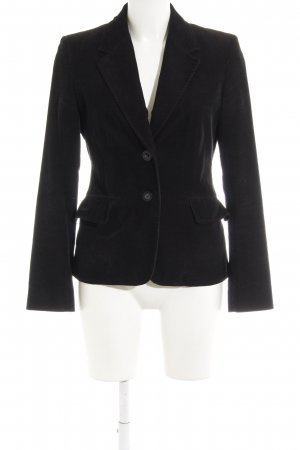 Esprit Long-Blazer schwarz klassischer Stil