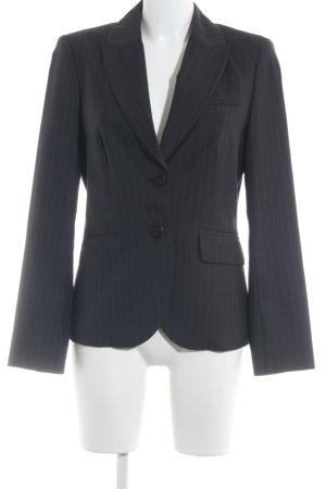 Esprit Long-Blazer schwarz Nadelstreifen Business-Look
