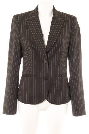 Esprit Long-Blazer schwarz-weiß Nadelstreifen Business-Look
