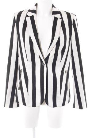 Esprit Lange blazer gestreept patroon casual uitstraling