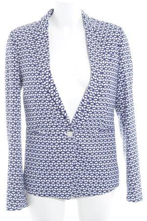 Esprit Long-Blazer weiß-blau Casual-Look