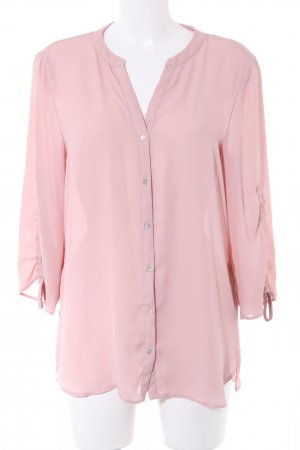 Esprit Long-Bluse pink Casual-Look