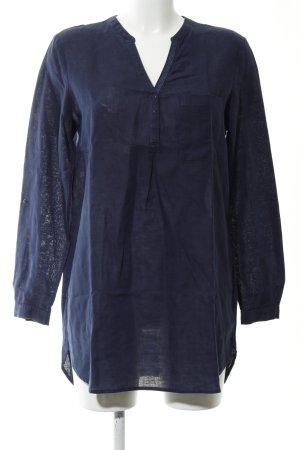 Esprit Long-Bluse blau Casual-Look