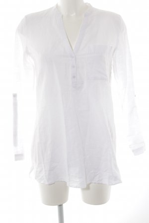 Esprit Long-Bluse weiß Casual-Look