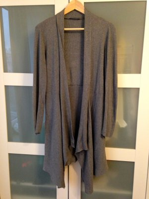 Esprit Long-Cardigan, Strickcardigan, Knitwear, grau