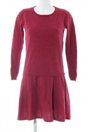 Esprit Long Sweater red allover print casual look