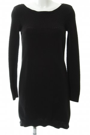 Esprit Lange jumper zwart losjes gebreid patroon casual uitstraling