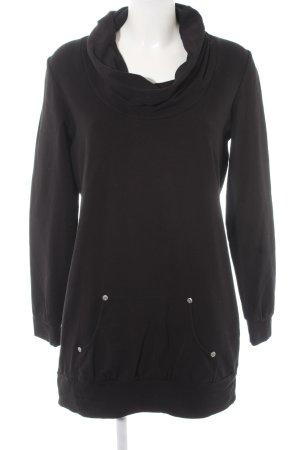 Esprit Jersey largo negro estilo sencillo