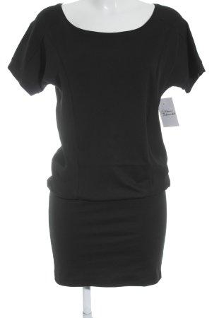 Esprit Longshirt schwarz Materialmix-Look