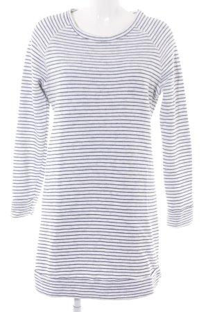 Esprit Longshirt weiß-schwarz Streifenmuster Casual-Look