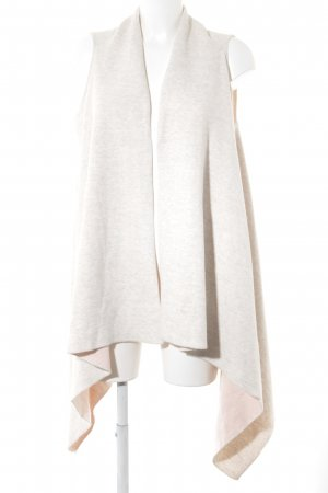 Esprit Long Knitted Vest cream-oatmeal casual look