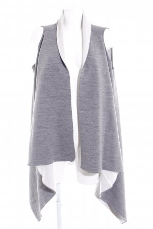 Esprit Chaleco de punto largo gris-gris claro look casual