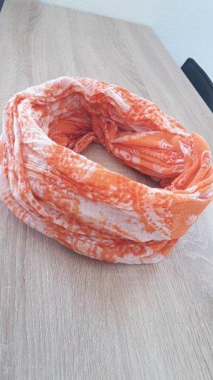 Esprit Loop Orange/Weiß