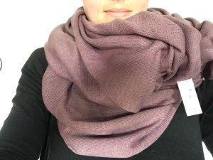Esprit Sciarpone malva-grigio-lilla