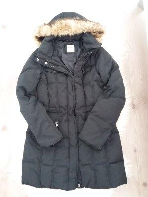 Esprit Mantel Daunen  schwarz 36 S