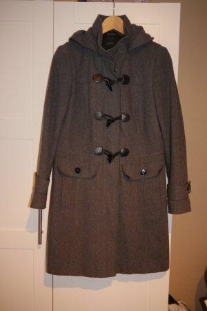Esprit Mantel grau dufflecoat Gr. 40 TOP!