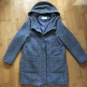 Esprit Abrigo de lana gris claro-gris
