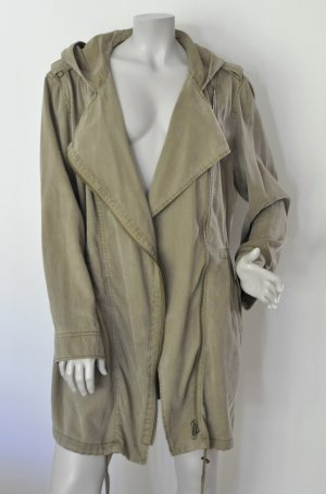 Esprit Between-Seasons-Coat khaki