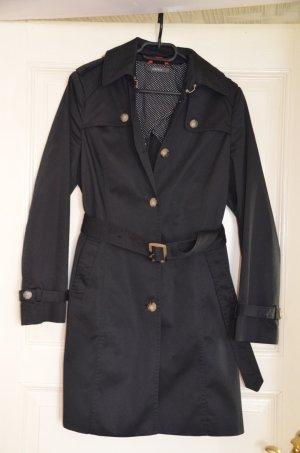 Esprit Mantel schwarz Gr. 36 Neu