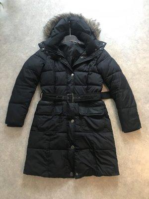 Esprit Manteau matelassé noir