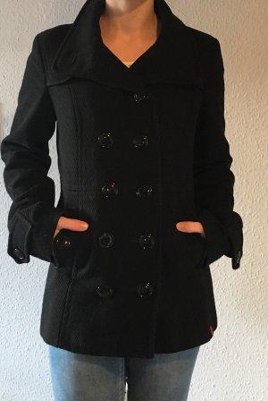 edc by Esprit Pea Jacket black