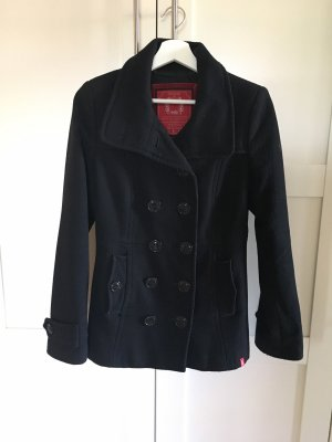 edc by Esprit Pea Jacket black