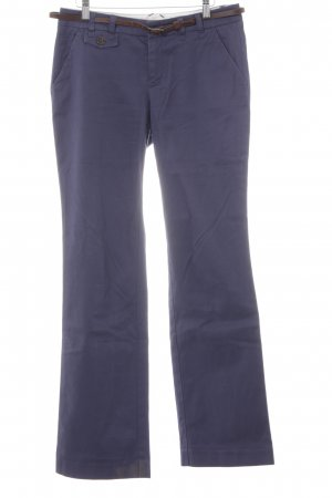 Esprit Marlene Trousers dark blue casual look