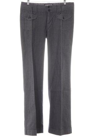 Esprit Marlene jeans donkergrijs gestreept patroon zakelijke stijl