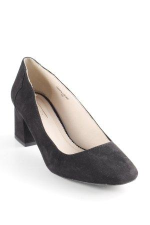 Esprit Mary Jane Ballerinas schwarz schlichter Stil