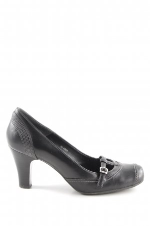 Esprit Mary Jane Pumps schwarz Business-Look