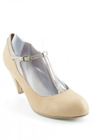 Esprit Mary Jane Pumps hellbraun Casual-Look