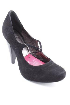 Esprit Mary Jane Pumps schwarz schlichter Stil