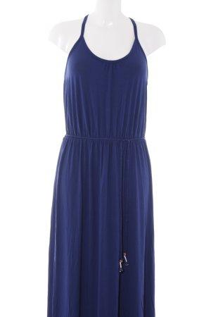 Esprit Maxikleid dunkelblau-silberfarben Elegant