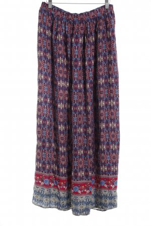 Esprit Maxi rok abstract patroon Beach-look