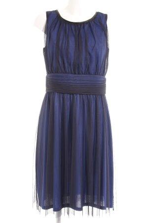 Esprit Midikleid blau-schwarz extravaganter Stil