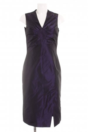 Esprit Midi Dress brown violet elegant