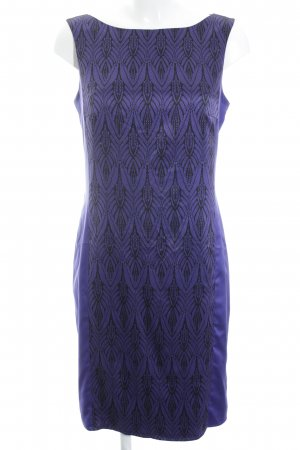 Esprit Midi Dress lilac-black casual look