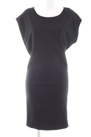 Esprit Midi-jurk zwart simpele stijl