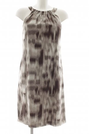 Esprit Midi Dress silver-colored-taupe graphic pattern elegant